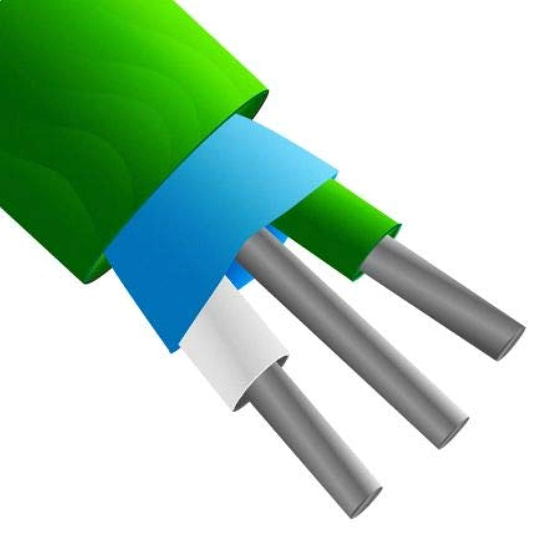 振る舞いウェーハシアーRS PRO 熱電対用延長ケーブル, Kタイプ, 10m 8275690