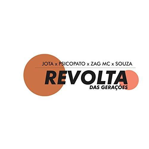 Jota Mc feat. Zag Mc, Psicopato & Souza
