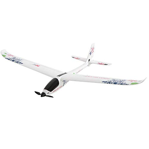 2.4GHz 4CH Avión RC profesional Avión de control remoto eléctrico recargable Modelo EPO Material Duradero Anti-caída RC al aire libre Planeador Vuelo de alta velocidad Avión de hélice de ala f
