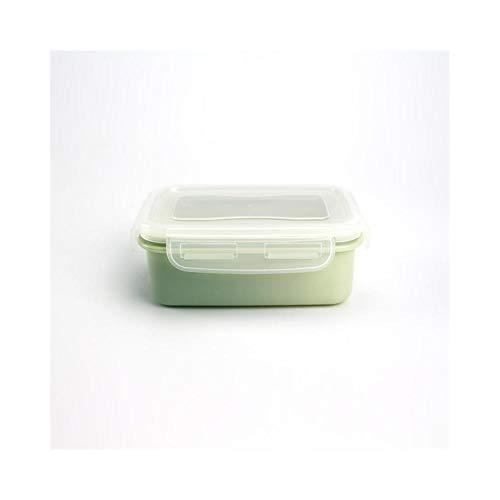 Foshuo Ensembles combinés Lunch Bento Box,Ensemble de Vaisselle biodégradable de boîte de bento de déjeuner de récipient de Stockage de boîte de Nourriture Repas sur Le Pouce Boîte à bento