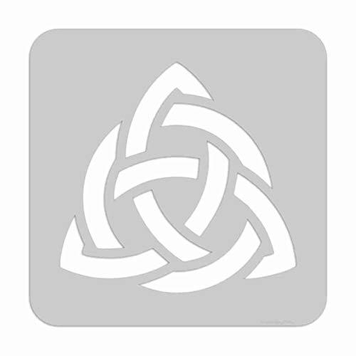 Stencil- Celtic Trinity Knot, Pick a Size