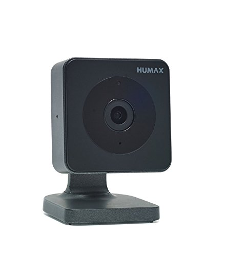 HUMAX Digital Eye Kamera (100 Grad Sichtfeld, Nachtsicht, W-LAN, Bluetooth) anthrazit