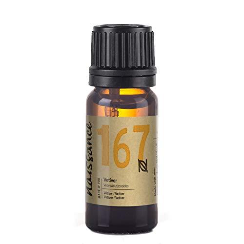 Naissance Aceite de Vetiver 10ml - 100% puro, vegano y sin OGM