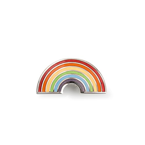 DONKEY Products Pintastic Shiny Rainbow Pin, Anstecker, Schmuckspange, Metall, 1 cm, 401233