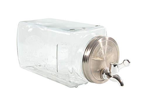 Getränkespender für den Kühlschrank - 3 L mit Zapfhahn - Wasser Saft Spender Dispenser