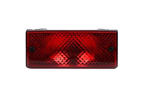HELLA 2NE 006 609-007 Feu antibrouillard arrière - Illumination - 12V - Montage en saillie - gauche/droite