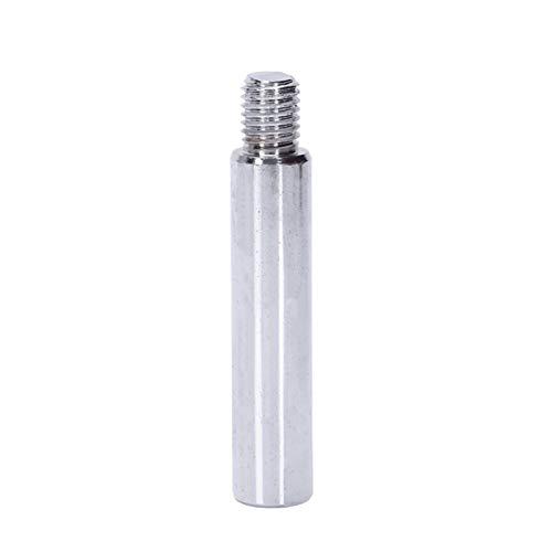 SSXPNJALQ 125 Poliermaschine Winkelschleifer Verlängerungsstange M14 Adapter Rod Polier Schönheit Polierwerkzeug 100 mm Promotion (Color : Silver, Size : 1000 4000)