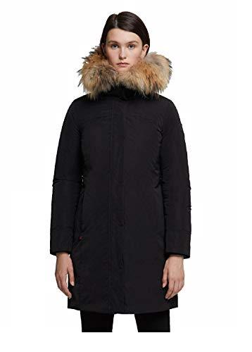 Woolrich WWCPS2815 UT0573 100 Black Cappotto Donna XL