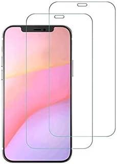 عبوة من 3 قطع من الزجاج المقوى لهاتف iPhone 12/12 Pro، وiPhone Mini وiPhone 12 Pro Max، وواقي الشاشة، تركيب سهل خالٍ من ال...