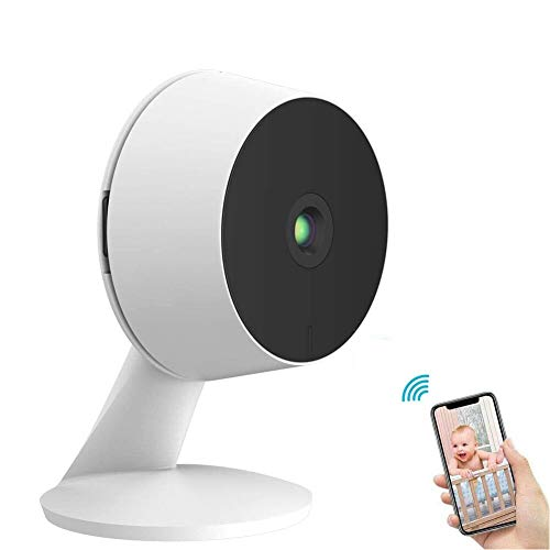 LaView 1080P HD Pet Camera Mini Indoor Security Camera with Night Vision and Motion Tracking and Alert Wireless Home Camera Compatible with Alexa