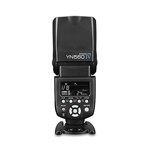 Yongnuo YN560 IV 2.4GHz Flash Speedlite YN560 IV con Transceptor de Apoyo YN560-TX, RF- 603 (I/II),...