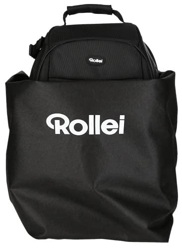 Rollei Fotoliner Ocean M, Kamerarucksack aus recyceltem Plastik für DSLR und DSLM Kameras, als Handgepäck geeigneter umweltfreundlicher daypack.