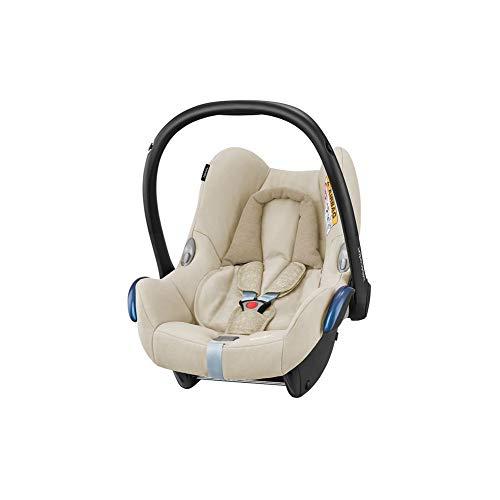 Bébé Confort Cosi Cabriofix, Siège auto Bébé Groupe 0+ , Dos à la route, Naissance à 12 mois (0 à 13 kg), Nomad Sand (crème)