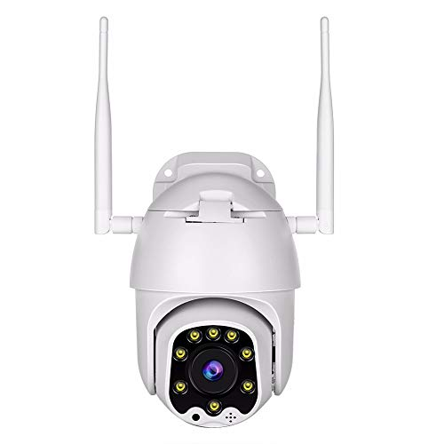 Outdoor PTZ WiFi Wireless IP Security Camera 1080P Home Surveillance Camera Pan/Tilt Two-Way Audio...