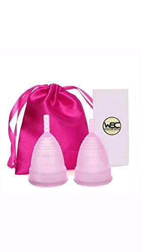 WSC Copa Menstrual - Bienestar - Clínicamente probada - Talla S