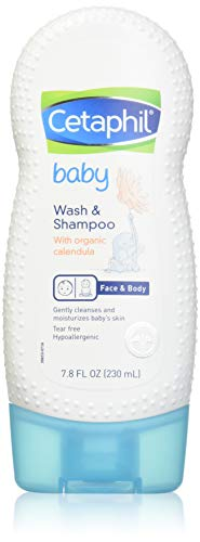 5. Cetaphil Baby Wash and Shampoo with Organic Calendula