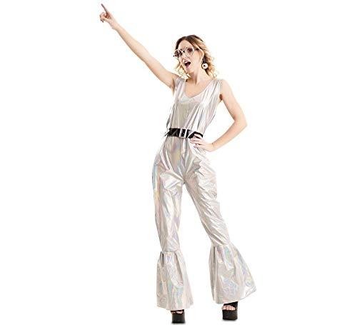 EUROCARNAVALES Disfraz de Disco Deslumbrante para Mujer