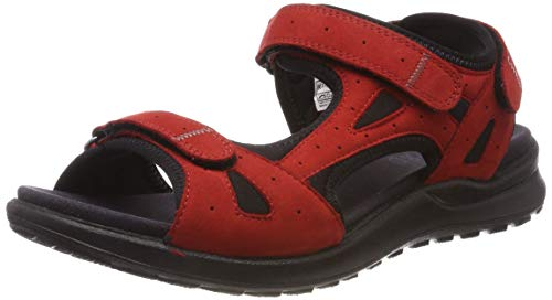 Legero Damen SIRIS Riemchensandalen, Rot (Chili (Red) 51), 42 EU
