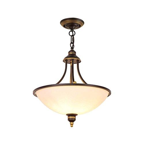 JBP Max Kronleuchter Light Shades Decke Lampe Persönlichkeit Kreative Tischlampe Land Schmiedeeiserne Lampen-33,Nobulb