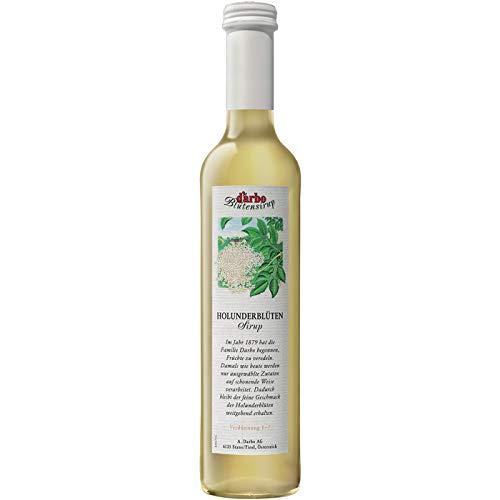 Darbo Holunderblüten-Sirup, Glasflasche - 0.5L - 6x