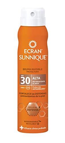 Ecran Sunnique - Bruma Invisible Protectora SPF 30, Hidrata la
