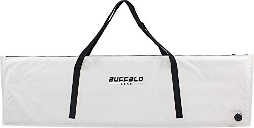 Buffalo Gear Insulated Fish Cooler Bag 60 Inch,Monster Leakproof Fish Kill Bag,Large Portable Waterproof Fish Bag White,Keep ice-Cold More Than 24 Hours