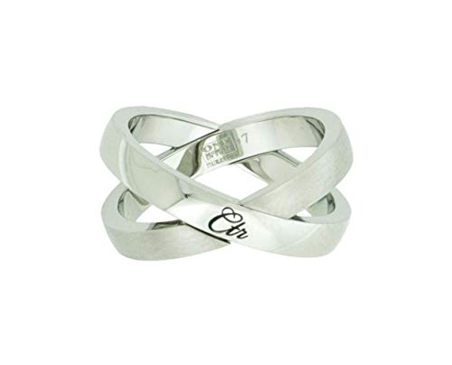 One Moment In Time J192 Sizes 8 Atom Stainless Steel CTR Ring Mormon LDS Women's