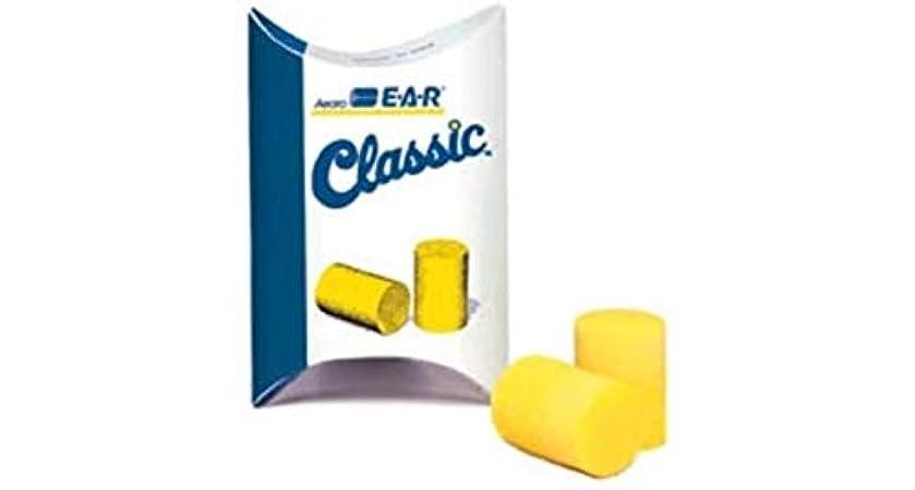 ツーリスト援助する暴露する3?M e-a-rクラシックコード付き耳栓ペーパーバッグで、600ペア/ケース、