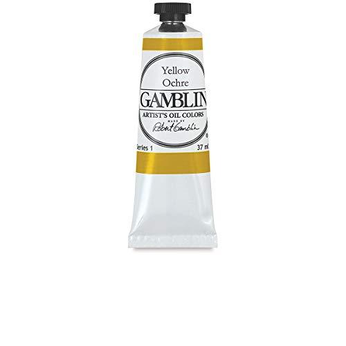Gamblin Artist Oils Yellow Ochre 37ml
