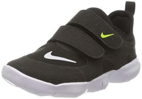 Nike Unisex-Baby Free RN 5.0 (TDV) Laufschuh, schwarz (schwarz/White-Anthracite-Volt), 21