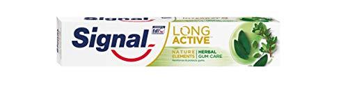 Signal Herbal Gum Care Pasta de Dientes - 6 Paquetes de 75 m