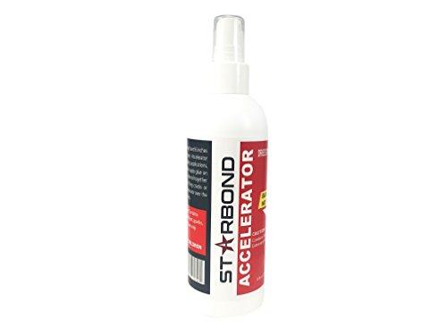 Starbond Instant Set ACCELERATOR (Activator) for CA Super Glue, Pump Sprayer Bottle (8 ounce)