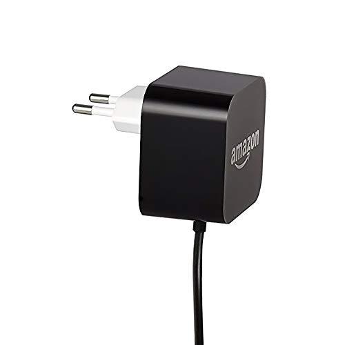 Adaptador de corriente Amazon para Amazon Echo Plus (2.ª generación - 2018) y Echo Show (2.ª generación), Negro