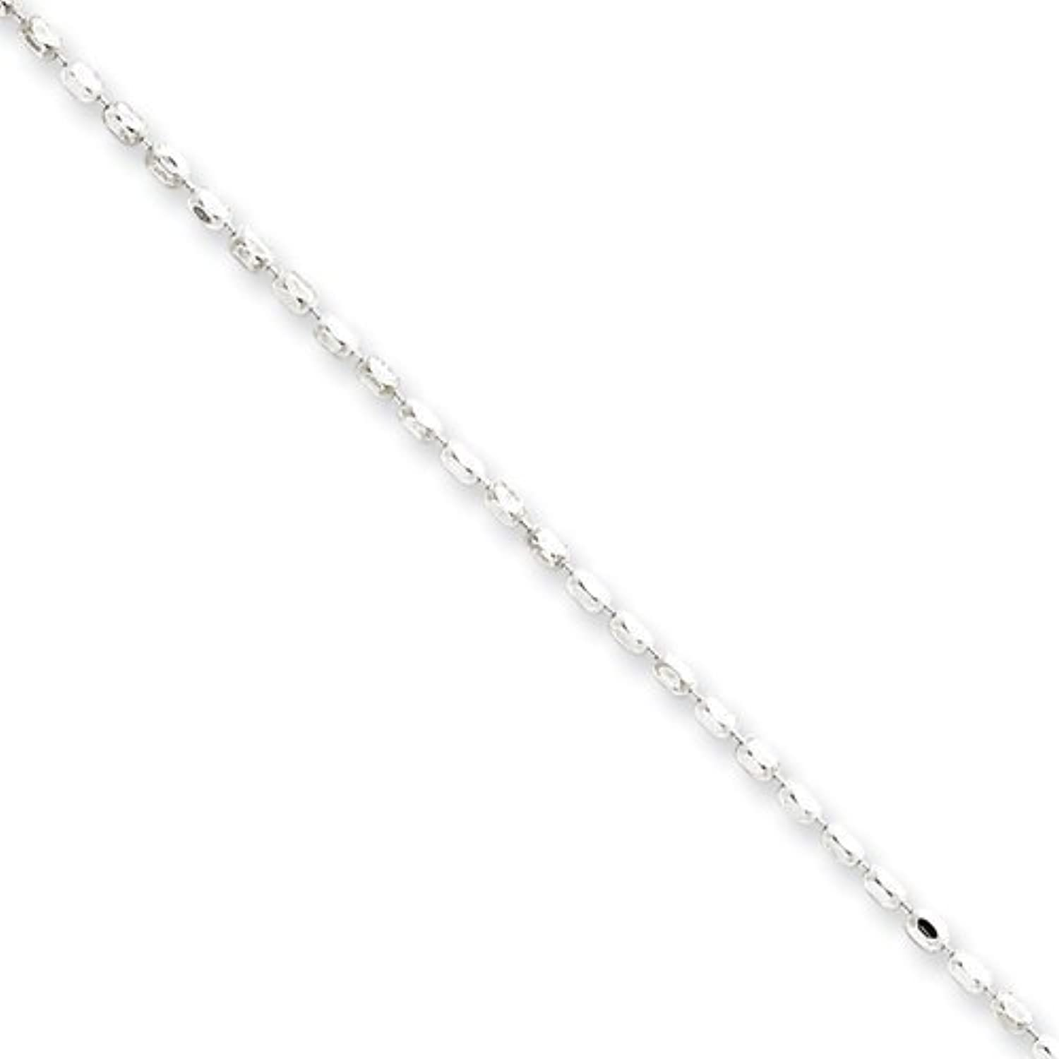 gold and Watches Sterling Silver 1.5mm Beaded Pendant Chain