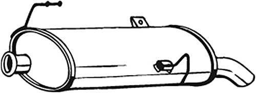 Bosal 190-505 Silencieux arrière