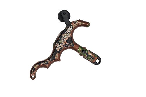 Tru-Fire Edge 4-Finger Aluminum Hand Held Camo Archery Bow Release