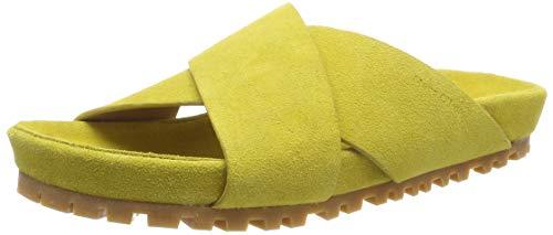 Marc O'Polo Damen Sandal, yellow, 37 EU