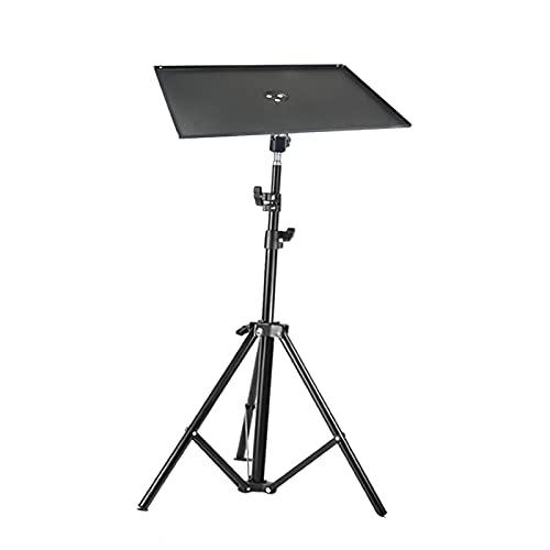 IPOTCH Projektor-Stativ, faltbares Laptop-Stativ, Projektor-Ständer, für Office Home Stage Outdoor-Computerhalterung - 1,6 m Halterablage