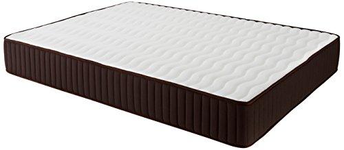 Dormio Esmeralda Colchón ViscoSoft reversible, Blanco, 105 x 200 x 24 cm (Todas las medidas)