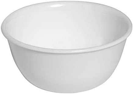 Corelle Livingware 12-Ounce Rice Bowl/Soup/Dessert-cup, Winter Frost White (6017640)