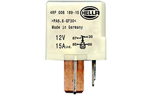 HELLA 4RP 008 189-151 Relé, bomba de combustible - 12V