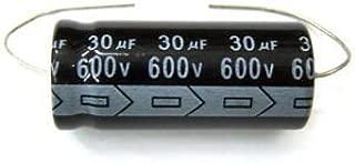 MIEC Qty 3 30UF 600V 105C Axial Electrolytic Capacitors