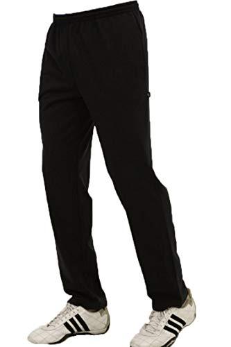 Trainingshose Jogginghose für Herren Lycra schwarz von hajo Größe: 29