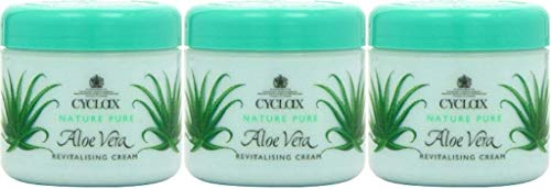 Crema revitalizante Cyclax con Aloe Vera (300 ml) pack de 3