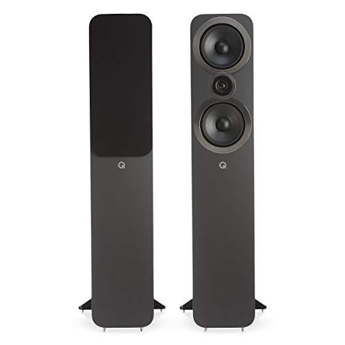 Q Acoustics 3050i QA3550 - Altoparlanti da terra in grigio grafite/coppia