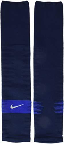 Nike Unisex NK STRK LEG SLEEVE-GFB Socks, Blau (Midnight Navy/Game Royal/White), L/XL