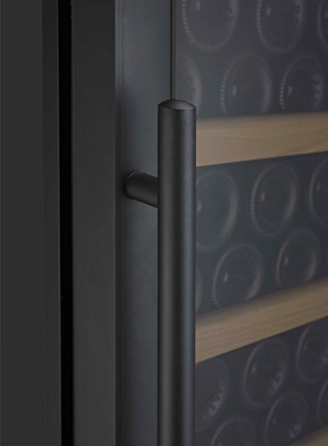 Allavino Vite 2X-YHWR305-1BT Wine Refrigerator - 610 Bottle Capacity - Side-by-Side with Black Doors