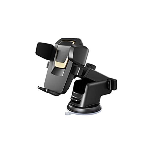 N / B Montaje del teléfono del automóvil, adsorción Fuerte, Base Ajustable Flexible, Compatible con teléfonos Menores de 6,44 Pulgadas, Utilizado en el Tablero de Instrumentos, Parabrisas