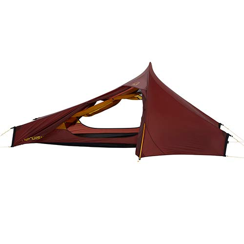 Nordisk Telemark 2.2 LW 2 Person Tent, Burnt Red