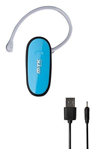 MTK 800861 - Auriculares con Bluetooth, Color Azul